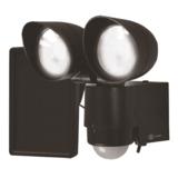 Xunzel LED lamp Solartwain Bewakingslamp Zwart_