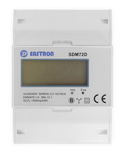 Eastron SDM72D, 3 Fase kWh meter met puls uitgang