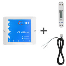 CEMM basic energieverbruiksmanager incl. Eastron SDM120DB 1 fase kWh meter + S0 kabel