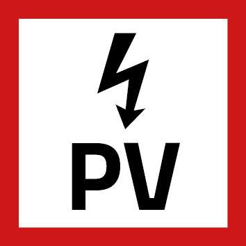 PV Sticker - Klein Formaat
