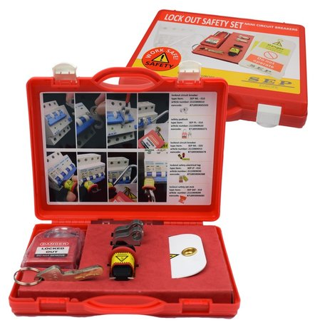 SEP Lock out Safety Set