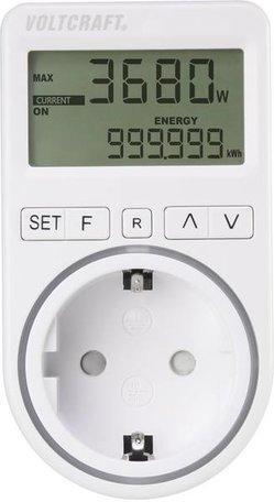 VOLTCRAFT SEM4500 Energiekostenmeter, Instelbaar stroomtarief