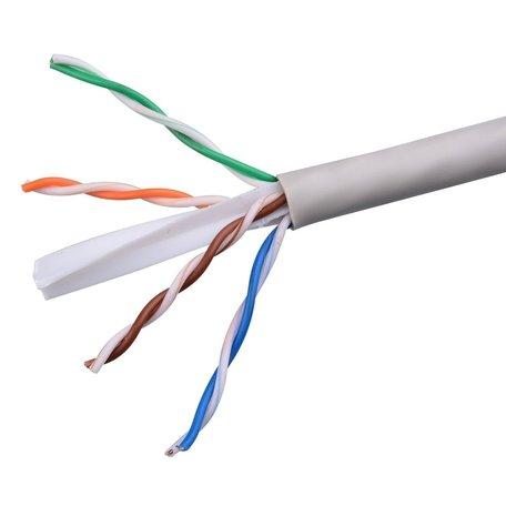 Cat 6 UTP Netwerkkabel 4pr 23 AWG - Doos 305 Meter