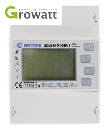 SDM630-Modbus voor Growatt Omvormers