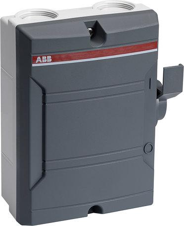 ABB Werkschakelaar 4P 25A Donkergrijs