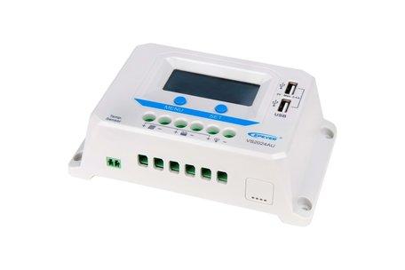 Solar Laadregelaar Beaut 12/24V 10A met LCD display en USB