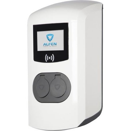 Alfen ICU Eve Double Pro-line Socket 1fc 3-fase 22kW Plug & Charge