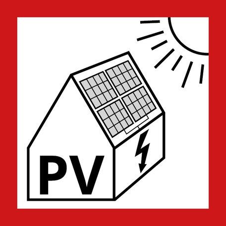 PV Sticker NEN1010 - Klein formaat
