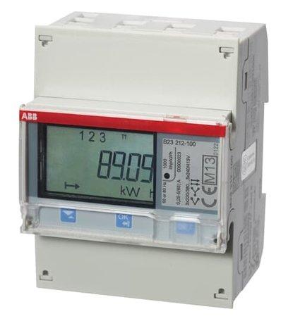 ABB B23 3 Fase kWh meter 65A met Modbus