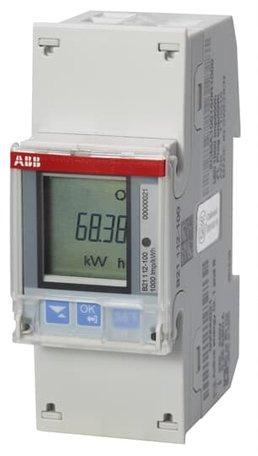 ABB B21 1 Fase kWh meter 65A met Modbus