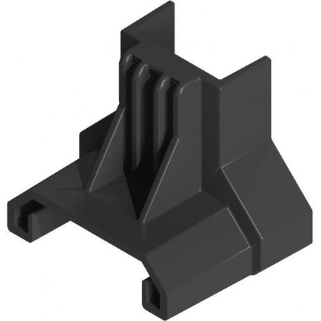 ClickFit EVO - Eindklemsteun Zwart