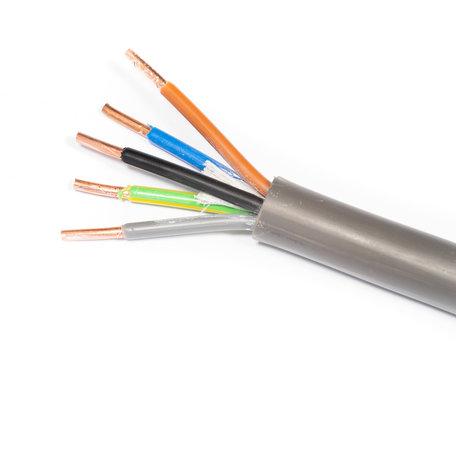 YMVK kabel 5 x 6mm2 - 25 Meter
