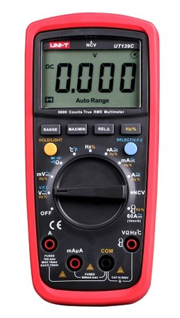 Multimeter UNI-T UT139C - True RMS en temperatuurmeting