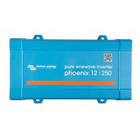 Victron Phoenix omvormer 12/230V 250W VE.Direct SCHUKO