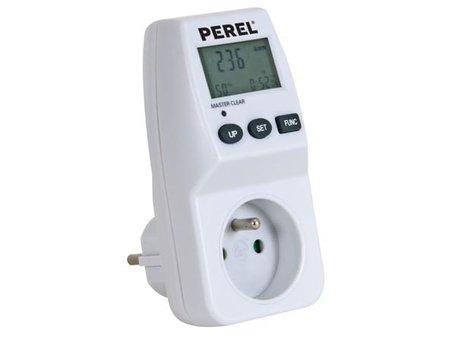 Energiemeter 230V 3600W met penaarde (BE/FR)