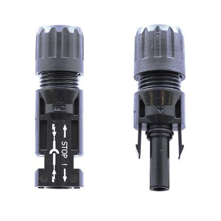 Staubli MC4 connector set (male + female)  - 5,0 tot 6,0mm buiten diameter