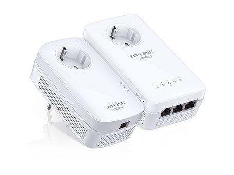 TP-link AV1200 Gigabit Powerline ac Wi-Fi Kit met Stopcontact