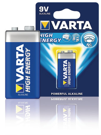 Varta 9V Batterij High Energy
