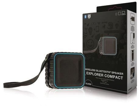 Sweex Bluetooth-Speaker 2.0 Explorer 3 W Ingebouwde Microfoon Zwart/Blauw