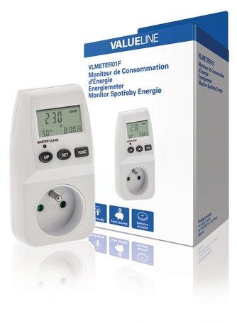Valueline Energie Consumptie Meter 3600 W Frans/Belgisch
