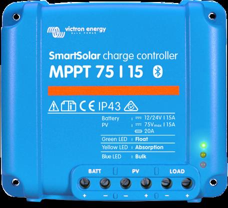 Victron SmartSolar MPPT 75/15 Laadregelaar
