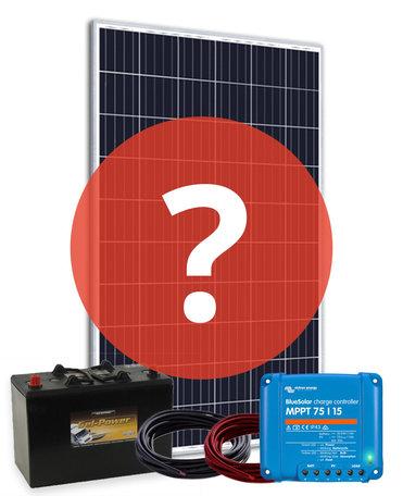 Cedel Solar Autonoom - 24V systeem op maat