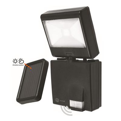 Xunzel LED lamp Solar Discovery Zwart met Zonnepaneel