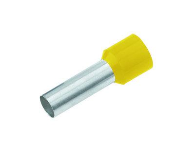 CIMCO Adereindhuls Geïsoleerd 6,0mm2 / 12mm geel - 100 Stuks