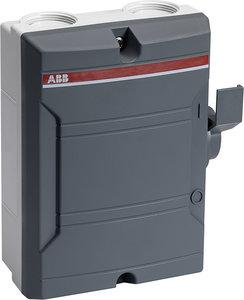 ABB Werkschakelaar 3P 16A Donkergrijs