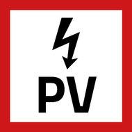 PV Sticker klein